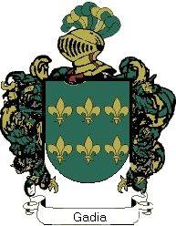 Escudo del apellido Gadia