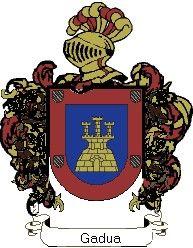 Escudo del apellido Gadua