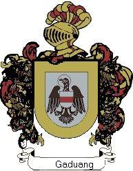 Escudo del apellido Gaduang