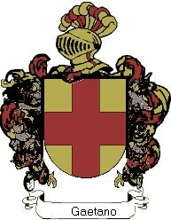 Escudo del apellido Gaetano