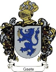 Escudo del apellido Gaete