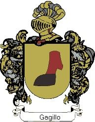 Escudo del apellido Gagillo