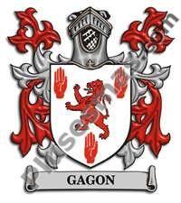 Escudo del apellido Gagon