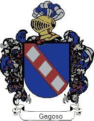 Escudo del apellido Gagoso