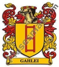 Escudo del apellido Gahlei