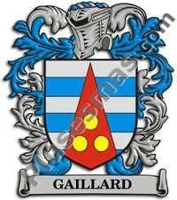 Escudo del apellido Gaillard