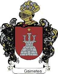 Escudo del apellido Gaimetea