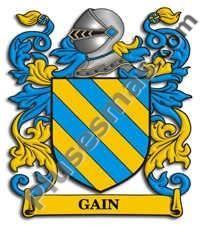Escudo del apellido Gain