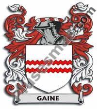 Escudo del apellido Gaine
