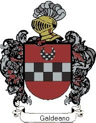 Escudo del apellido Galdeano