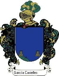 Escudo del apellido García casielles