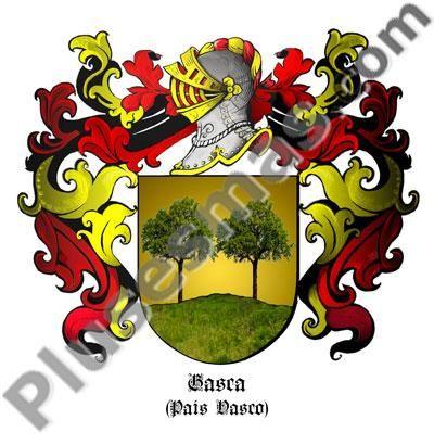 Escudo del apellido Gasca