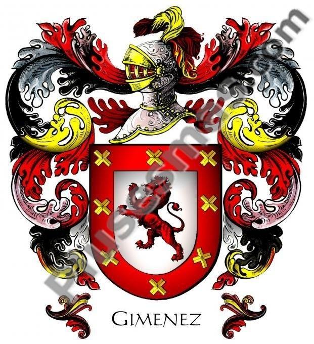 Escudo del apellido Giménez