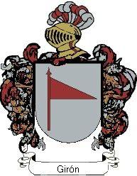 Escudo del apellido Giron