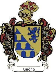 Escudo del apellido Girona