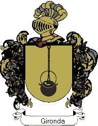Escudo del apellido Gironda
