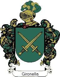 Escudo del apellido Gironella