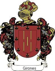 Escudo del apellido Girones
