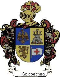 Escudo del apellido Goicoechea