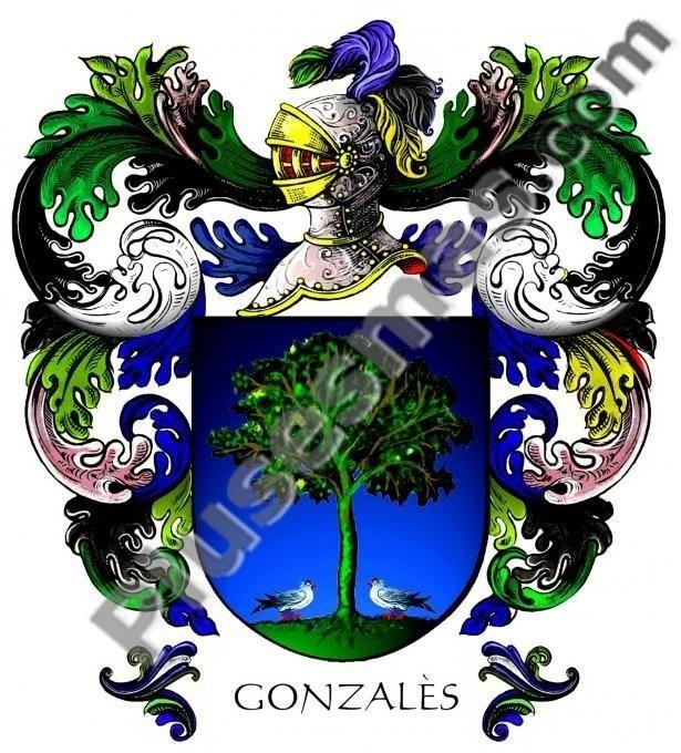 Escudo del apellido Gonzales