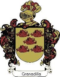 Escudo del apellido Granadilla