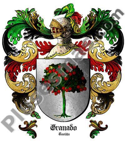 Escudo del apellido Granado