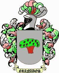 Escudo del apellido Granado o granados