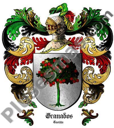 Escudo del apellido Granados