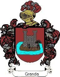 Escudo del apellido Granda