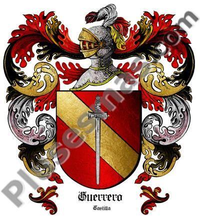 Escudo del apellido Guerrero