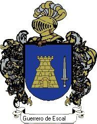 Escudo del apellido Guerrero de escalante