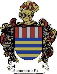 Escudo del apellido Guerrero de la fuente