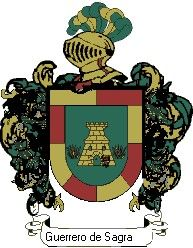Escudo del apellido Guerrero de sagrario
