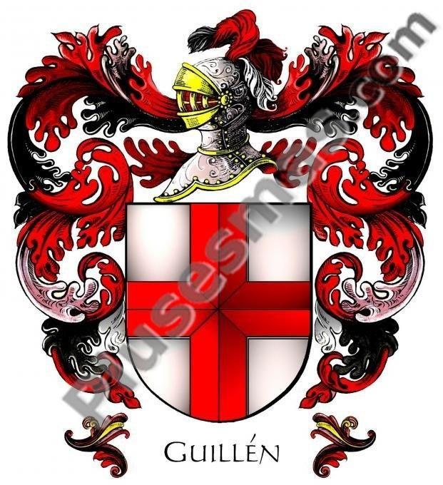 Escudo del apellido Guillén