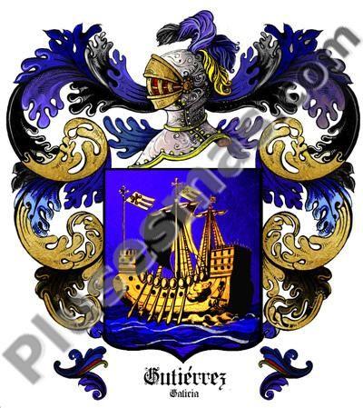 Escudo del apellido Gutiérrez