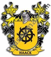 Escudo del apellido Haack