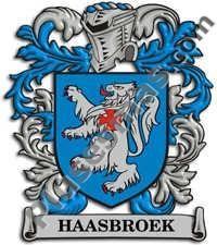 Escudo del apellido Haasbroek