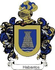 Escudo del apellido Habantos