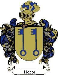 Escudo del apellido Hacar