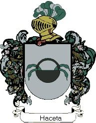 Escudo del apellido Haceta