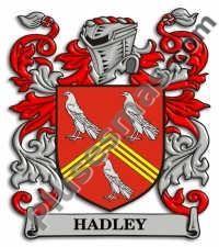 Escudo del apellido Hadley