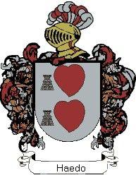 Escudo del apellido Haedo