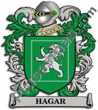 Escudo del apellido Hagar