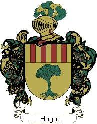 Escudo del apellido Hago