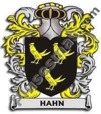 Escudo del apellido Hahn