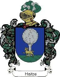 Escudo del apellido Haitze