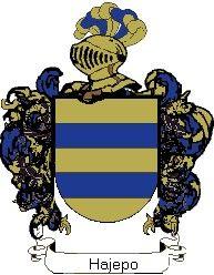 Escudo del apellido Hajepo