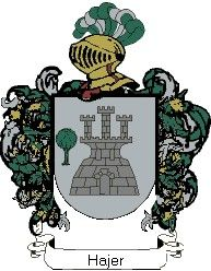 Escudo del apellido Hajer