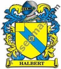 Escudo del apellido Halbert