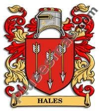 Escudo del apellido Hales